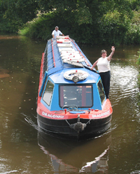Cruise the Brecon & Monmouth Canal