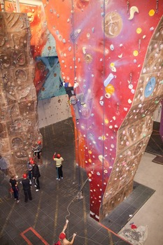 Summit Centre Climbing Wall 2011.jpg
